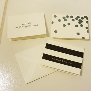 Kate Spade Gift Enclosure Cards
